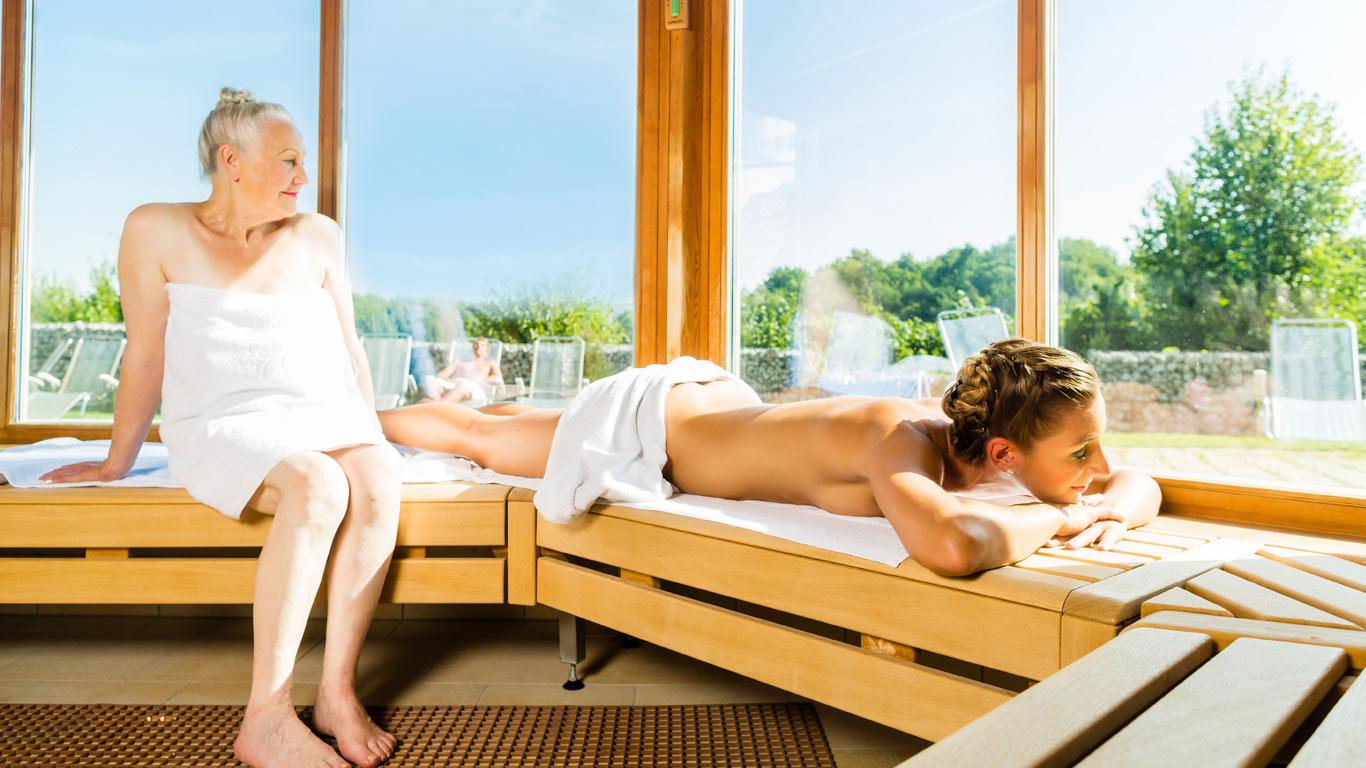 Sauna und Arthrose