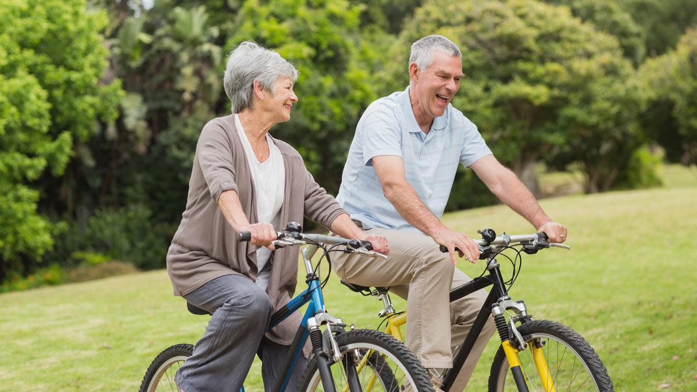 Radfahren als Arthrose Therapie