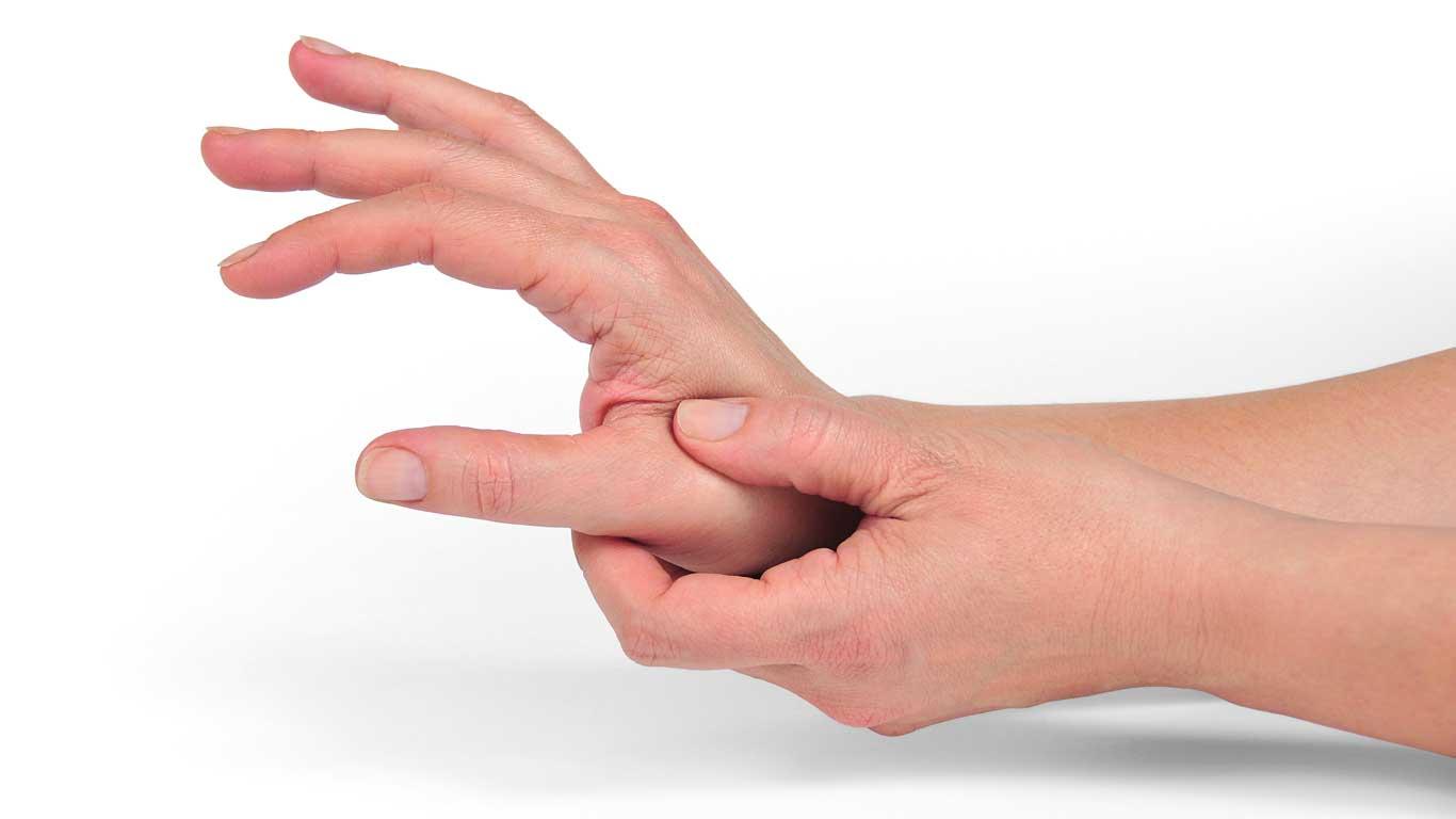 Schmerzen bei einer Fingerarthrose